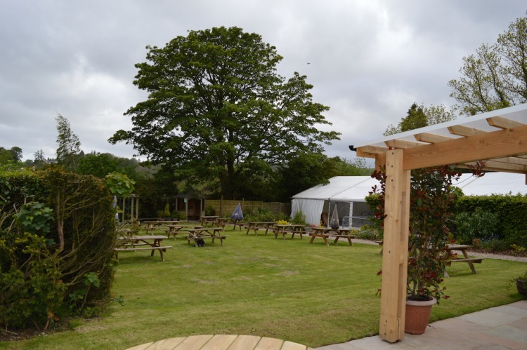 Cann Office Garden and Marquee