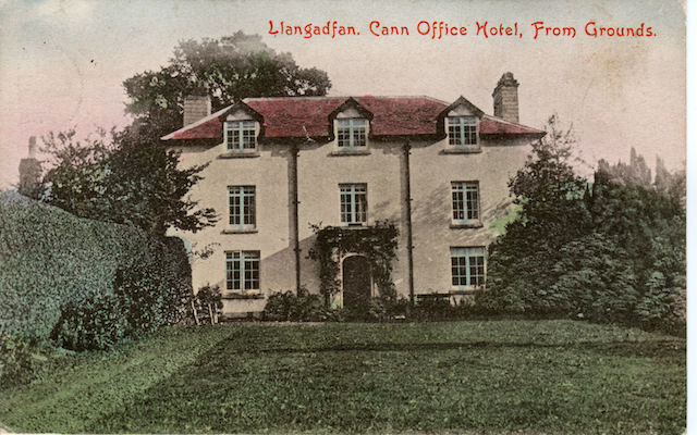Cann Office Historic Colour Postcard ~1910