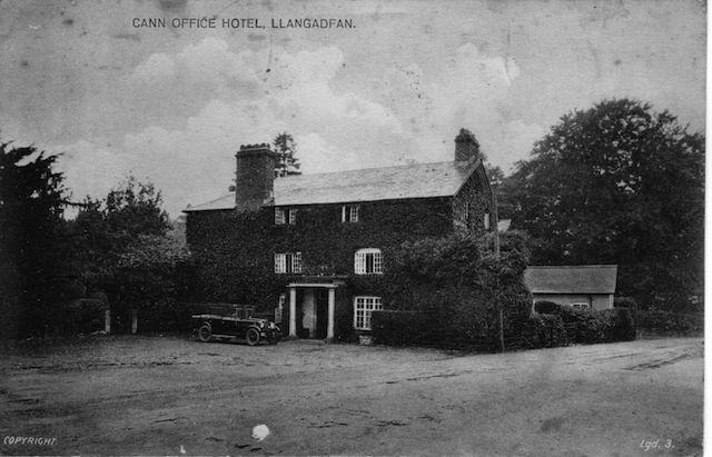 Cann Office Old Postcard ~1920