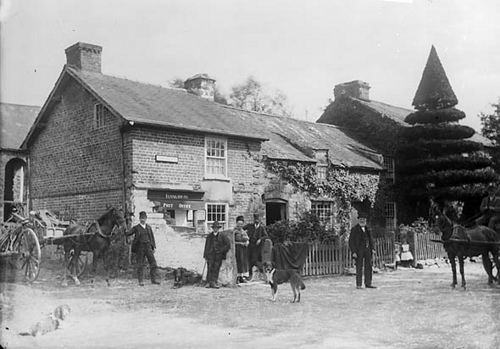Old Post Office, Llangadfan